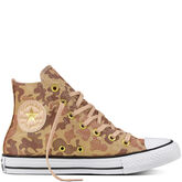 Chuck Taylor All Star Lurex Camo Particle Beige/Cameo Brown