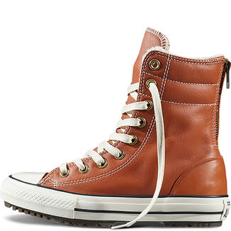 Imagen adicional 2 de producto de Botas Chuck Taylor All Star Hi-Rise Leather + Fur - Converse