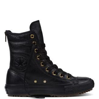 Imagen principal de producto de Botas Chuck Taylor All Star Hi-Rise Leather + Fur - Converse