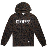 Essentials Camo Graphic Pullover Peat