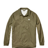 Converse Collegiate Coaches Jacket Medium Olive/Engine Smoke
