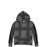 Converse x Miley Cyrus Bandana Track Pullover Hoodie Black Multi