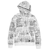 Converse x Suicidal Tendencies Allover Print Pullover Hoodie White Multi