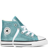 Chuck Taylor All Star Glitter Bleached Aqua/Natural/White