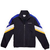 Men's Colorblock Track Jacket Dark Obsidian