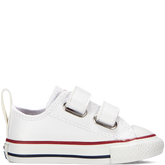 Chuck Taylor All Star 2V Leather Toddler White