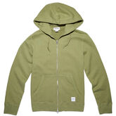 Essentials Full Zip Hoodie für Herren Fatigue Green