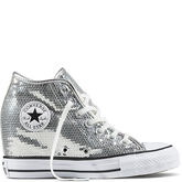 Chuck Taylor All Star Lux Sequin Pure Silver/White/Black