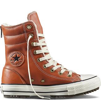 Imagen adicional de producto de Botas Chuck Taylor All Star Hi-Rise Leather + Fur - Converse