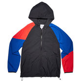 Men's CONS Hunt Parka Black/Hyper Royal/Enamel Red
