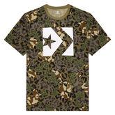 Star Chevron Box Camo T-Shirt für Herren Dusky Green