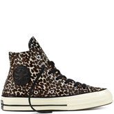 Chuck Taylor All Star '70 Cheetah Pony Hair Noir/Noir/Aigrette