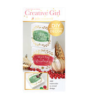 Creative Girl by Julie Comstock™ Watercolor Art Blocks, Merry & Happy, , hi-res
