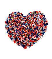 Proggy Kit- Dolly Mixture Heart Cushion, , hi-res