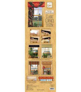June Tailor No Sew Home Decor-Classic Cornice System