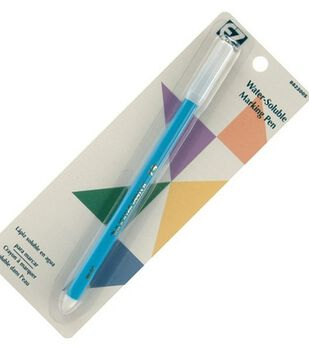 Wrights Water Soluble Marking Pen-Blue