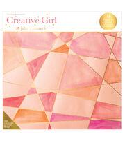 Creative Girl Watercolor Art Deck Designs, , hi-res