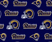 St Louis Rams NFL Cotton Fabric by Fabric Traditions, , hi-res