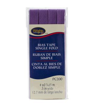 Wrights Single Fold Bias Tape-1/2'' x 4yds