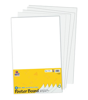 Busy Kids Learning Poster Board-White
