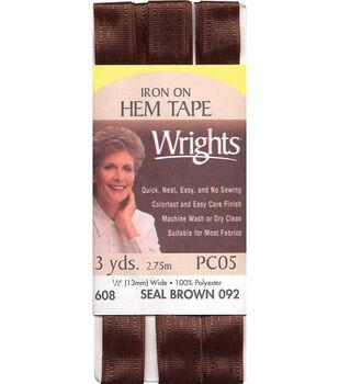 Wrights Iron-On Hem Tape-1/2''W x 3yds
