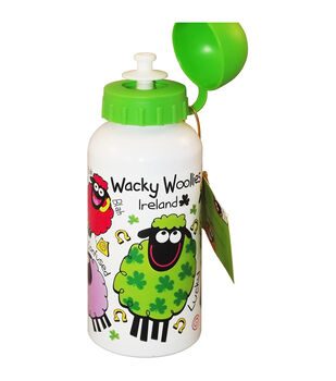 Dublin Gift Company Wacky Woollies Metal Bottle