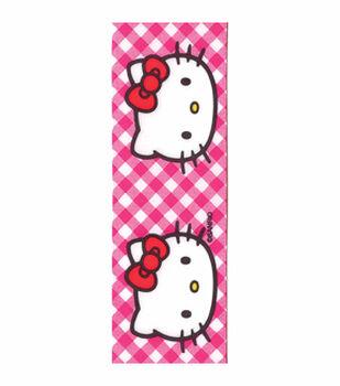 Hello Kitty Pink Gingham Ribbon