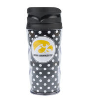 University of Iowa NCAA Polka Dot Travel Mug, , hi-res