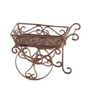 Fairy Garden Copper Cart, , hi-res