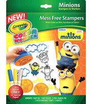 Crayola Color Wonder Stamper Kit-Minions, , hi-res