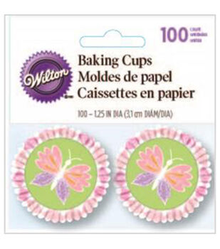 Wilton® Mini Baking Cups-Artistic Delights 100/Pkg