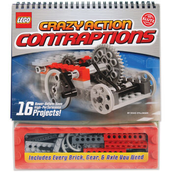 LEGO Crazy Action Contraptions Book Kit