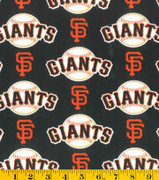 San Francisco Giants MLB  Allover Cotton Fabric, , hi-res