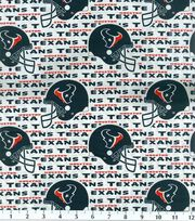 Houston Texans NFL Cotton Fabric by Fabric Traditions, , hi-res