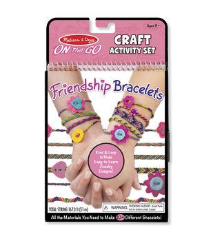 Melissa & Doug On The Go Craft Activity Set-Friendship Bracelets