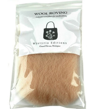 Wistyria Editions Roving Wool