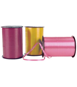 Crimped Curling Ribbon 3/16'' Wide X 500 Yards