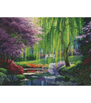 Candamar Designs Needlepoint Kit The Willow Pond
