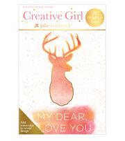 Creative Girl Watercolor Art Deck Hello, , hi-res