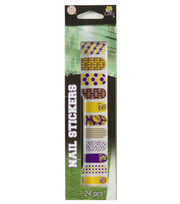 Louisiana State University Nail Stickers, , hi-res
