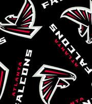 Atlanta Falcons NFL Fleece Fabric by Fabric Traditions, , hi-res