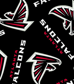 Atlanta Falcons NFL Fleece Fabric by Fabric Traditions