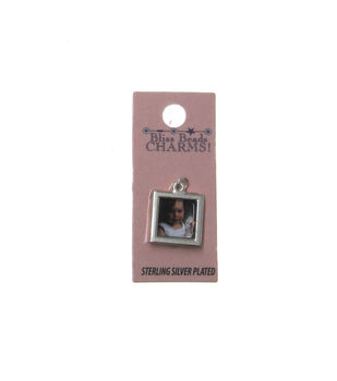Silver Plated Picture Frame Charm