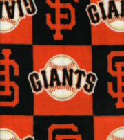 San Francisco Giants MLB Block Fleece Fabric, , hi-res