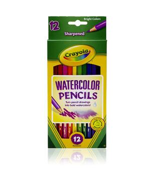 Crayola 12ct Watercolor Colored Pencils