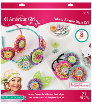 American Girl Crafts Fabric Flower Kit by Kit Kittredge®