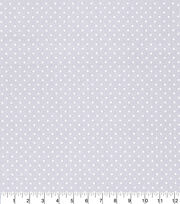 Made in America Cotton Fabric-Pearl Polka Dot Gray, , hi-res