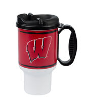 University of Wisconsin NCAA 20oz Travel Mug, , hi-res