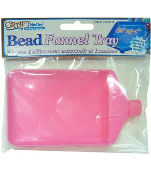Bead Funnel Tray W/Cap