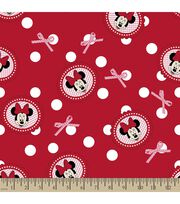 Disney® Minnie Mouse Print Fabric-Polka Dots, , hi-res